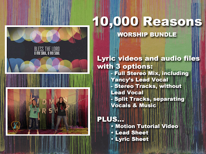 10000 REASONS WORSHIP BUNDLE