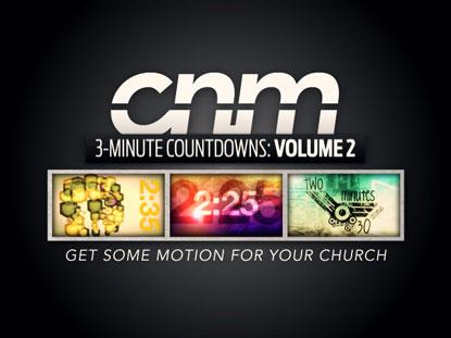 3-MINUTE COUNTDOWNS VOLUME 2
