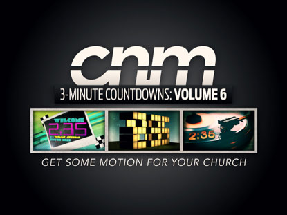 3-MINUTE COUNTDOWNS VOLUME 6