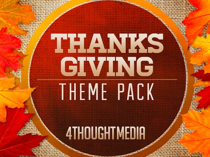 THANKS GIVING THEME PACK