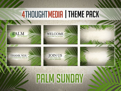PALM SUNDAY - THEME PACK