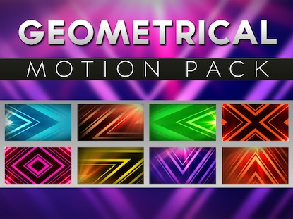 GEOMETRICAL MOTION PACK