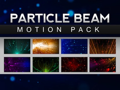 PARTICLE BEAMS MOTION PACK