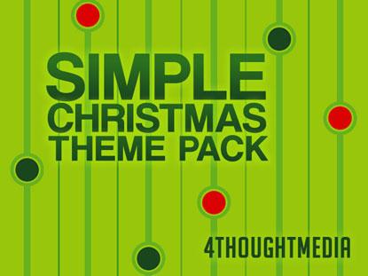 SIMPLE CHRISTMAS THEME PACK