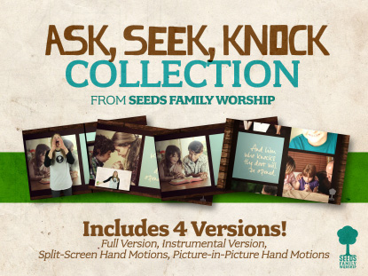 ASK, SEEK, KNOCK BUNDLE