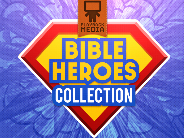 BIBLE HEROES COLLECTION - SPANISH