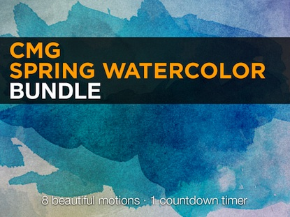 SPRING WATERCOLOR BUNDLE