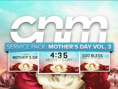 SERVICE PACK: MOTHER'S DAY VOL. 3