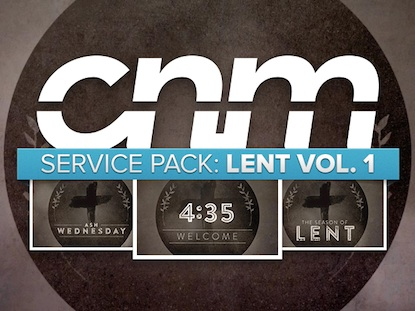 SERVICE PACK: LENT VOLUME 1