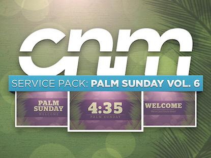 SERVICE PACK:PALM SUNDAY VOLUME 06