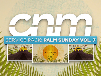 SERVICE PACK:PALM SUNDAY VOLUME 07