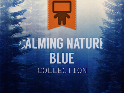 CALMING NATURE BLUE SERVICE PACK