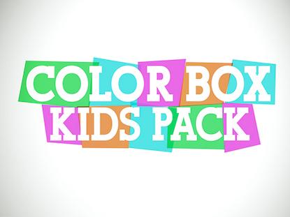 COLOR BOX KIDS PACK