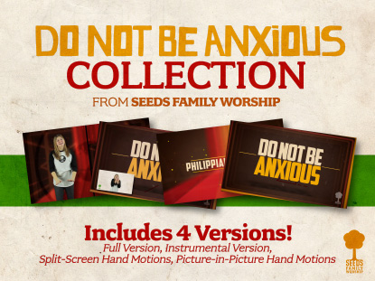 DO NOT BE ANXIOUS BUNDLE