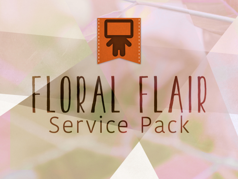 FLORAL FLAIR SERVICE PACK