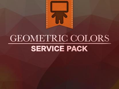 GEOMETRIC COLORS SERVICE PACK