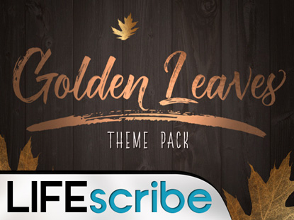 GOLDEN LEAVES THEME PACK