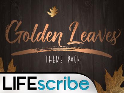 GOLDEN LEAVES THEME PACK