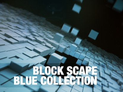 BLOCK SCAPE BLUE COLLECTION