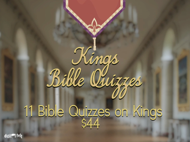 KINGS QUIZ: 11 PACK