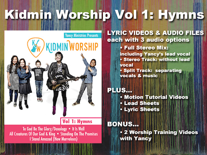 KIDMIN WORSHIP VOL 1: HYMNS