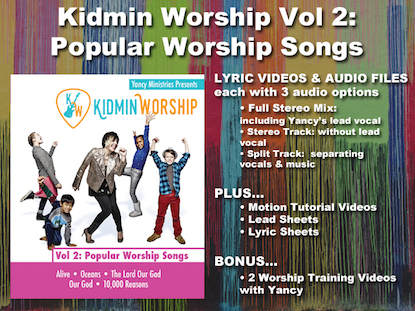 KIDMIN WORSHIP VOL 2: POPULAR WORSHIP SONGS