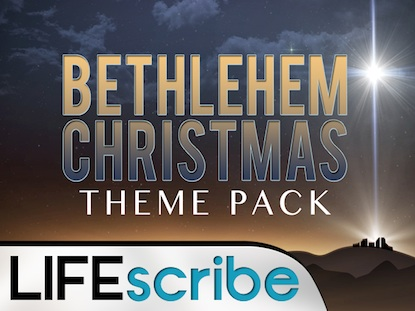 BETHLEHEM CHRISTMAS THEME PACK