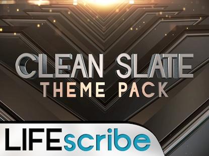 CLEAN SLATE THEME PACK
