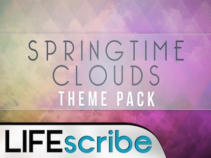 SPRINGTIME CLOUDS THEME PACK