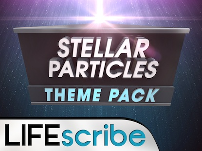 STELLAR PARTICLES THEME PACK