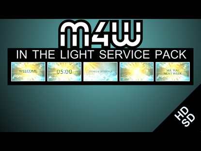IN THE LIGHT SERVICE PACK