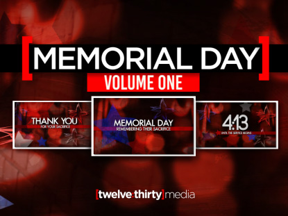MEMORIAL DAY: VOLUME ONE