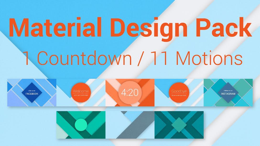 MATERIAL DESIGN PACK