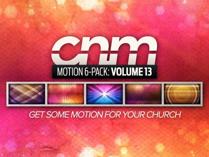 MOTION 6-PACK VOLUME 13
