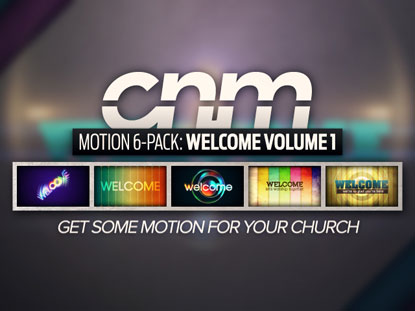 MOTION 6-PACK: WELCOME VOLUME 1