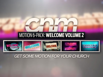 MOTION 6-PACK: WELCOME VOLUME 2
