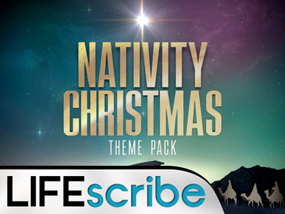 NATIVITY CHRISTMAS THEME PACK