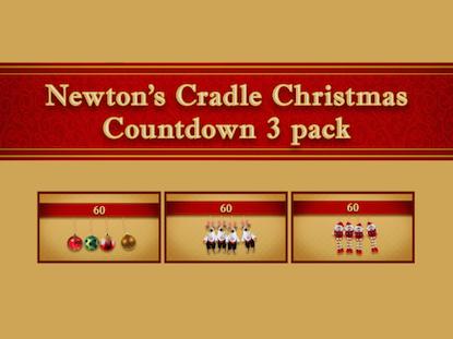 NEWTON'S CRADLE 3 PACK
