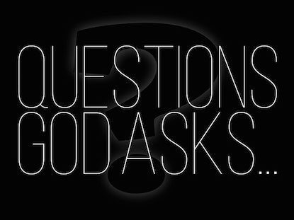 QUESTIONS GOD ASKS...