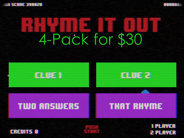 RHYME IT OUT 4 PACK