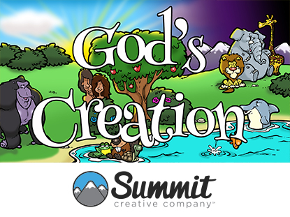 GOD'S CREATION: PRESCHOOL SERIES
