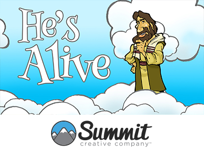 HE'S ALIVE: PRESCHOOL SERIES