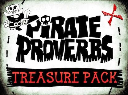 PIRATE PROVERBS TREASURE PACK