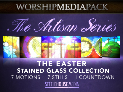 THE ARTISAN SERIES: THE EASTER STAINED GLASS COLLECTION