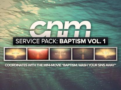 SERVICE PACK: BAPTISM VOLUME 1
