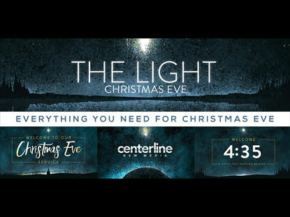 COMPLETE SERVICE PACK: THE LIGHT (CHRISTMAS EVE)