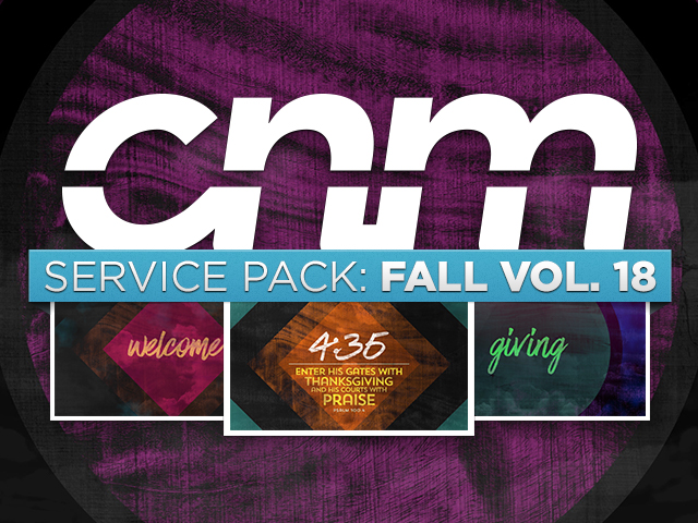 SERVICE PACK: FALL VOL.18