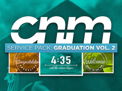 SERVICE PACK: GRADUATION VOL. 2