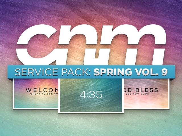 SERVICE PACK: SPRING VOL. 9