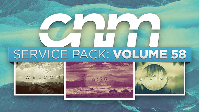 SERVICE PACK: VOLUME 58